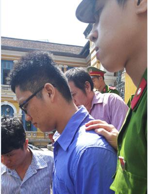 Bị cáo Lý Diệu Minh tại phiên tòa sơ thẩm