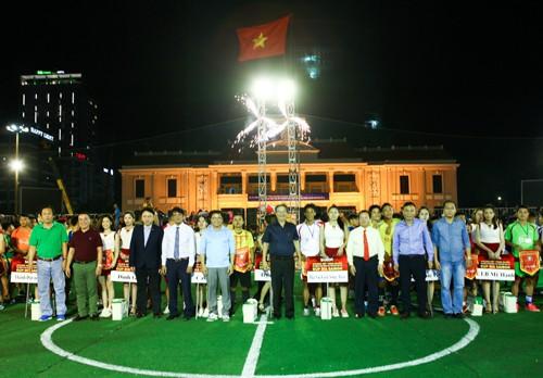 Hấp dẫn vòng chung kết toàn quốc Cúp Bia Sài Gòn 2017 - Ảnh 1.