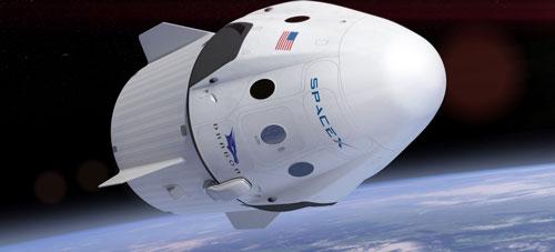 Tàu vũ trụ Dragon Ảnh: SPACEX