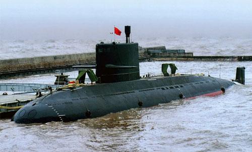 Tàu ngầm lớp Yuan của Trung Quốc Ảnh: PINTEREST