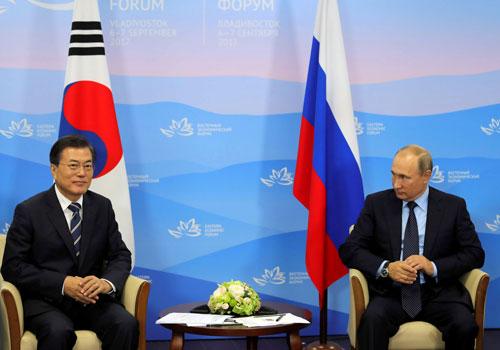 Hàn Quốc đề nghị Nga giúp kiềm chế Triều Tiên - Ảnh 1.
