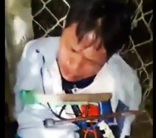 Nguyễn Văn Nam bị tạm giữ tại trụ sở công an phường