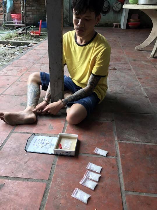 Nguyễn Đại Lâm bị bắt cùng tang vật