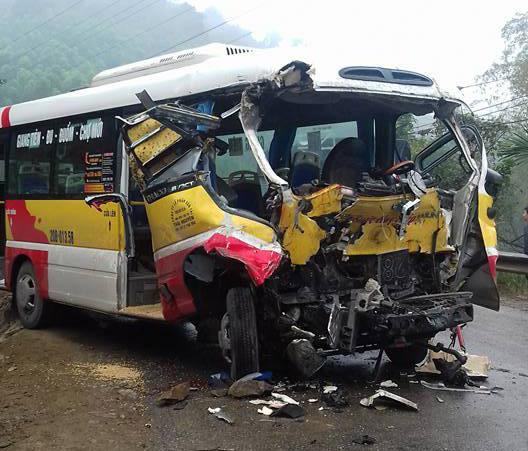 Vụ tai nạn khiến 9 người thương vong - Ảnh: Otofun