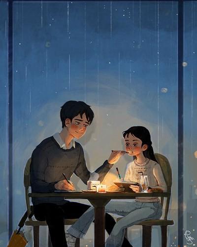 Bộ tranh: Tình yêu đến từ những điều nhỏ nhặt nhất - Ảnh 2.