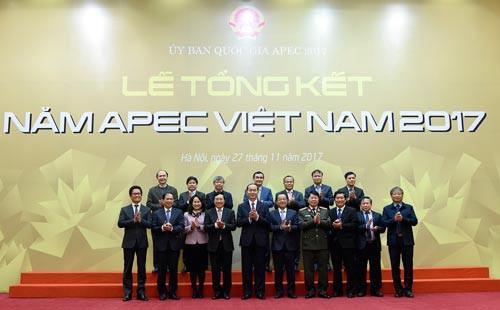APEC 2017 nâng cao vị thế của Việt Nam - Ảnh 1.