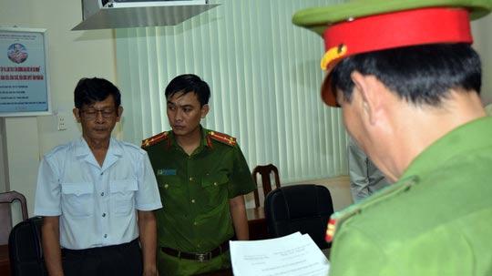 Bắt chánh thanh tra Sở KH-CN tỉnh Trà Vinh - Ảnh 1.