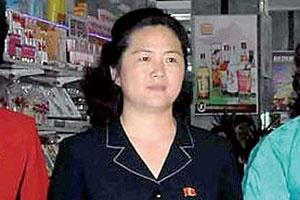 Bà Kim Sol-song, chị gái cùng cha khác mẹ với nhà lãnh đạo Kim Jong-un. Ảnh: Yonhap