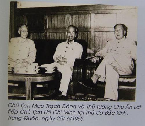 Chú thích sai Lưu Thiếu Kỳ thành Chu Ân Lai