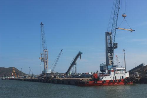 Cảng Quy Nhơn chỉ được định giá 404 tỉ đồng Ảnh: BÌNH ĐỊNH