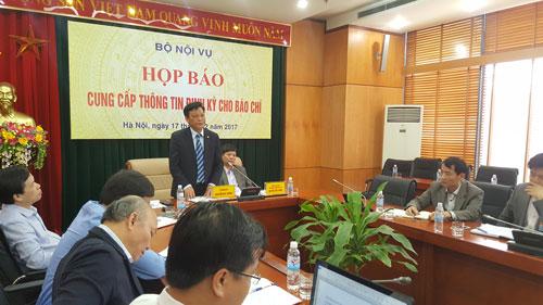 Thứ trưởng Bộ Nội vụ Nguyễn Duy Thăng cho biết quy trình bổ nhiệm sẽ phải hoàn thiện thêm