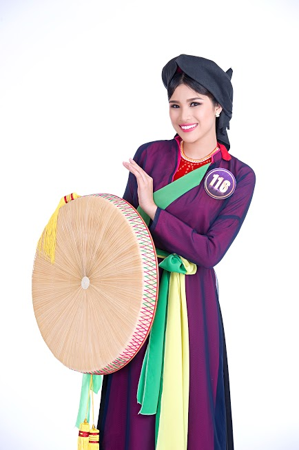 Người đẹp Nguyễn Thị Thành đến từ đất quan họ Bắc Ninh