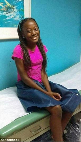 Cô bé đang là học sinh lớp 7 tại một ngôi trường nữ sinh ở Miami.
