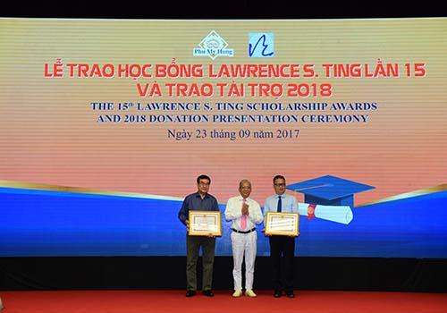 8,46 tỉ đồng được trao tặng tại lễ trao học bổng Lawrence S. Ting lần thứ 15 - Ảnh 1.