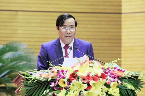 Ông Nguyễn Thanh Bình, Phó trưởng Ban Thường trực Ban Tổ chức trung ương, nhìn nhận chi tiêu cho bộ máy cán bộ lớn nhưng vẫn chưa hiệu quả Ảnh: THÀNH VĂN