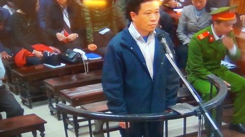 Bị cáo Hà Văn Thắm tại phiên xét xử thứ tư