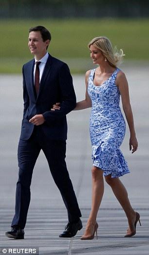 Vợ chồng Ivanka Trump ngọt ngào đến lạ - Ảnh 3.