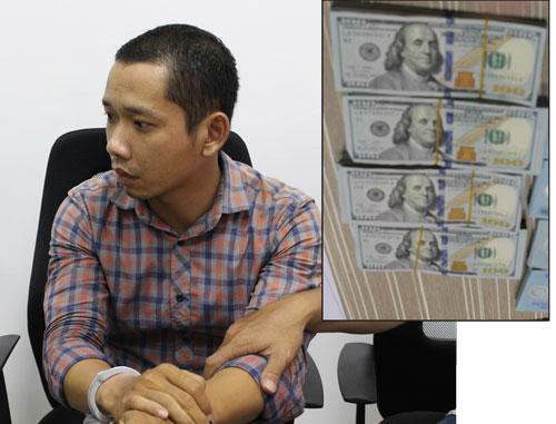 Kẻ cướp ngân hàng ở Trà Vinh sa lưới - Ảnh 1.