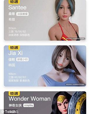Trung Quốc: Búp bê tình dục cũng... chia sẻ - Ảnh 1.