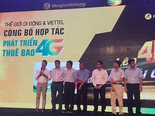 Thế Giới Di Động cùng Viettel phổ biến công nghệ 4G tại Việt Nam - Ảnh 1.