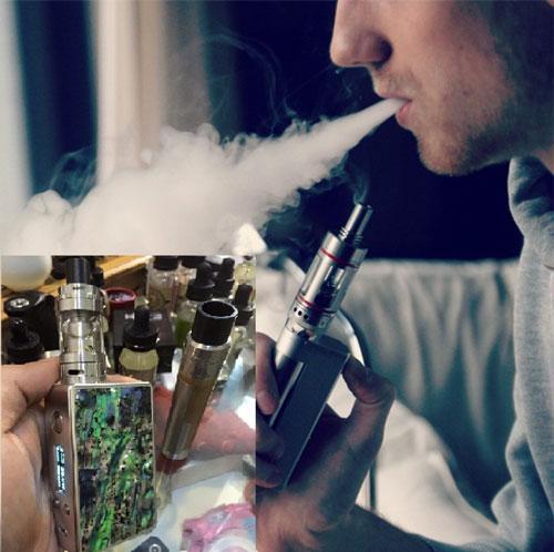 Thuốc lá điện tử và shisha được rao bán nhan nhản trên mạng internet với khẳng định không độc hại cho người sử dụng