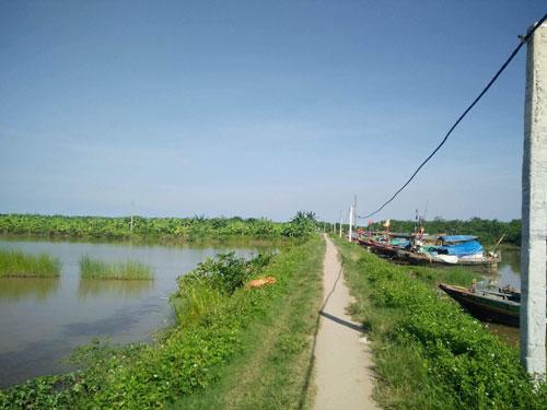 Nổ súng tranh chấp đầm nước ở Tiên Lãng - Ảnh 1.