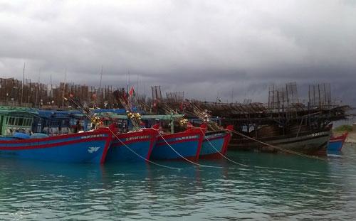 Hỗ trợ ngư dân tránh, trú bão - Ảnh 1.