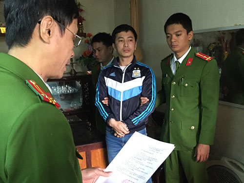 Nguyễn Hoàng Minh - một trong các đối tượng bị khởi tố