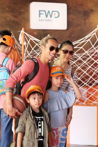 Gia đình sao Việt vui cùng ngày hội Con vươn xa