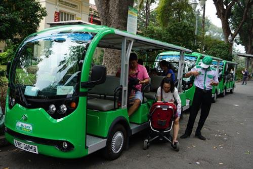 Đề xuất cho 10 xe điện kết nối buýt đường sông mỗi ngày - Ảnh 1.