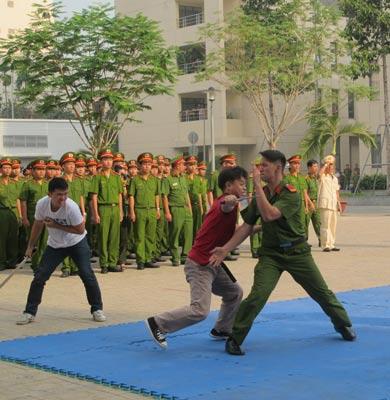 Đội Cảnh sát Hình sự Đặc nhiệm hướng Nam trong lần ra mắt