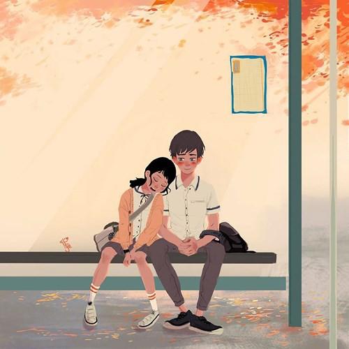 Bộ tranh: Tình yêu đến từ những điều nhỏ nhặt nhất - Ảnh 7.