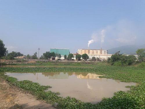 Khói và nước thải của Công ty CP Prime Đại Lộc khiến người dân bức xúc