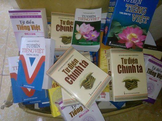 Từ điển tiếng Việt (NXB Thanh Niên) bán ở các nhà sách thuộc địa bàn Thanh Hóa