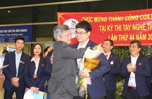 Thí sinh nghề Việt Nam: Tự tin ra sân chơi lớn - Ảnh 1.