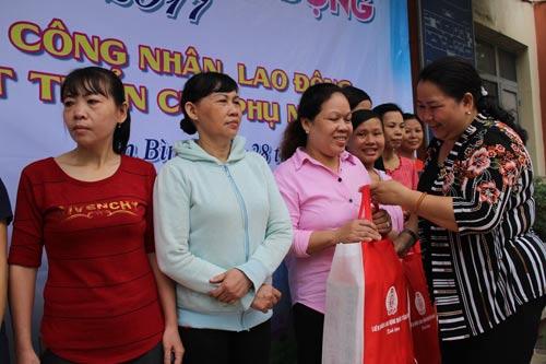 Chăm lo thiết thực cho nữ công nhân ở trọ - Ảnh 1.