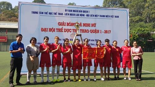 Tổ chức nhiều sân chơi cho nữ CNVC-LĐ - Ảnh 1.