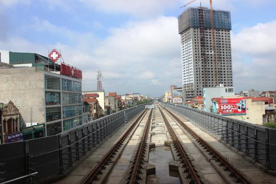 Đường sắt Cát Linh-Hà Đông: Đường ray chưa sử dụng đã gỉ sét - Ảnh 1.