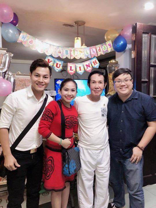 Sinh nhật 59 tuổi, NSƯT Vũ Linh xúc động trước tình cảm của đàn em - Ảnh 2.