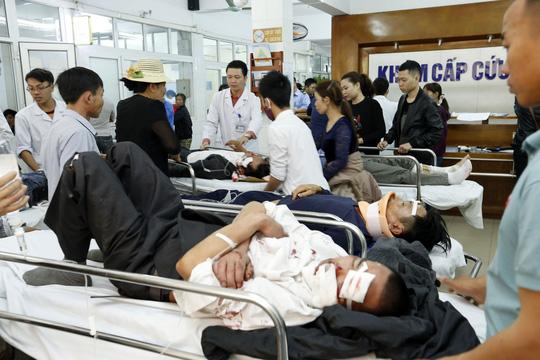 Cấp cứu người bị tai nạn tại BV Việt Đức (Hà Nội)