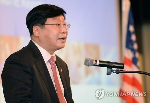 Bộ trưởng Thương mại Hàn Quốc Joo Hyung-hwan. Ảnh: Yonhap