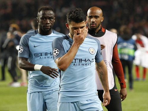 Sergio Aguero không chắc gắn bó với Man City ở mùa giải tới