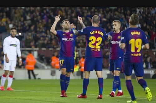 Mở đại tiệc 5 sao, Barcelona đoạt vé vòng 1/8 Cúp Nhà vua - Ảnh 2.