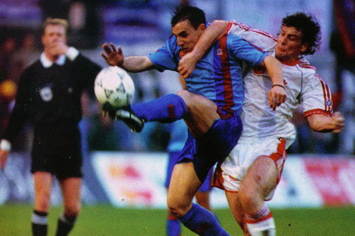 Barcelona đối đầu Anderlecht