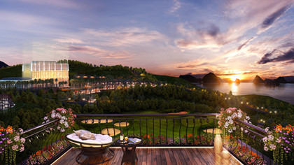 FLC Hạ Long có vị trí đẹp, tầm nhìn ra vịnh Hạ Long, sở hữu một trong những sân golf có tầm nhìn đẹp nhất thế giới