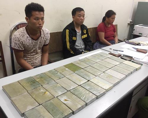Sơn La liên tục phá án ma túy lớn - Ảnh 1.