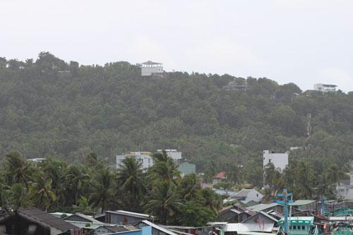 Ngang nhiên chiếm đất rừng ở Phú Quốc - Ảnh 1.