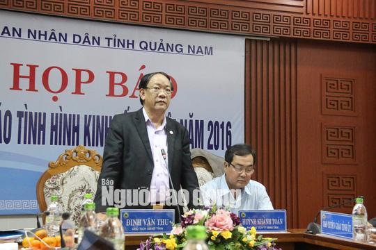 Công bố kế hoạch xử lý các vi phạm của lãnh đạo Quảng Nam - Ảnh 3.