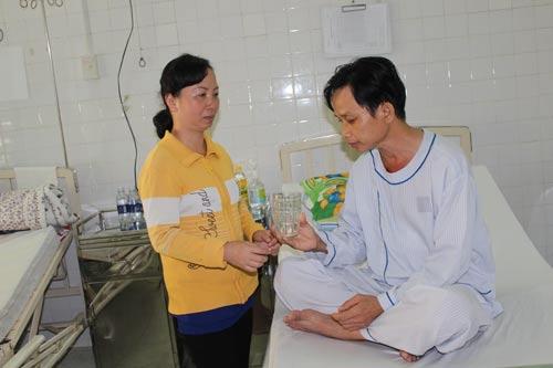 Được sự hỗ trợ từ Công đoàn Công ty Juki Việt Nam và LĐLĐ TP, anh Nguyễn Thạch đã được phẫu thuật và hồi phục tốt