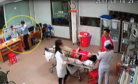 Giám đốc tát nữ bác sĩ trực cấp cứu bị phạt 3,6 triệu đồng - Ảnh 1.